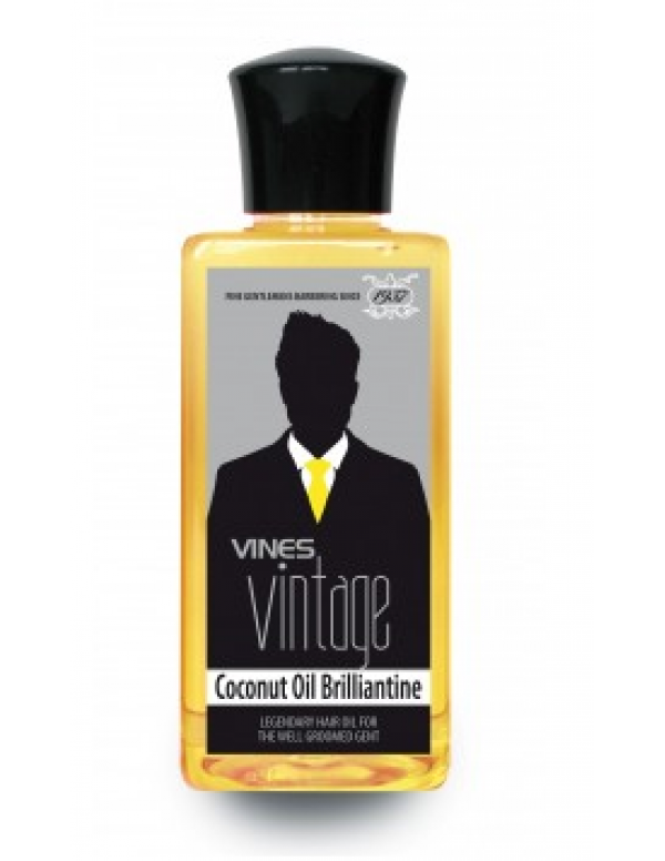 Vines vintage coconut oil brilliantine 200ml