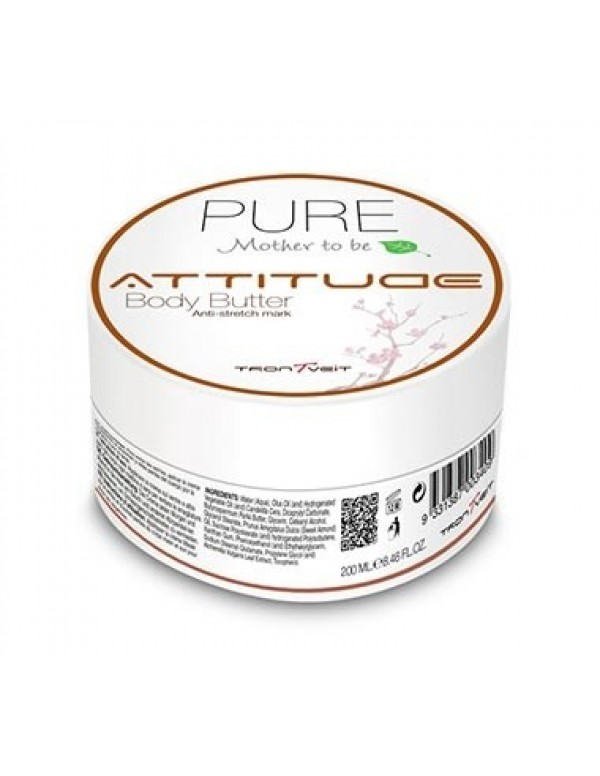 Attitude pure mother to be body butter 200ml