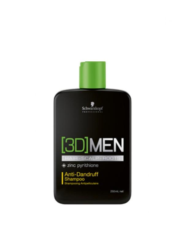 Schwarzkopf 3D anti dandruff shampoo 1000ml