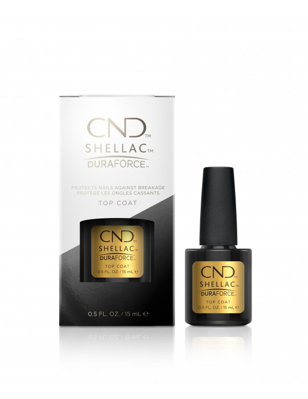Cnd shellac duraforece top coat 15ml