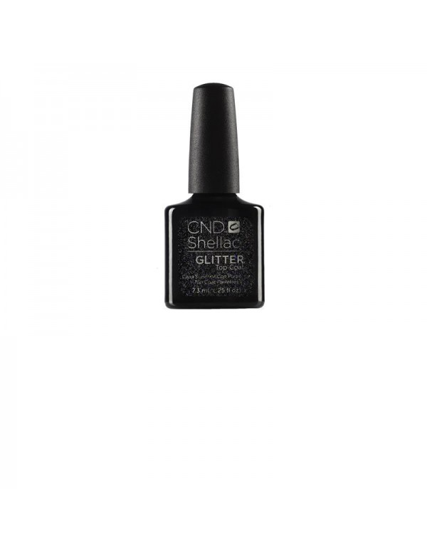 Cnd shellac glitter top coat 7.3ml