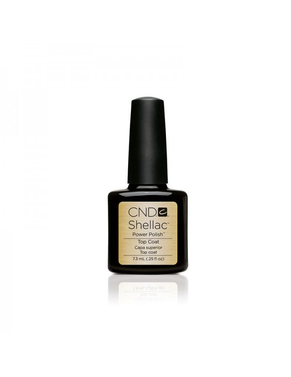 Cnd shellac top coat 15ml