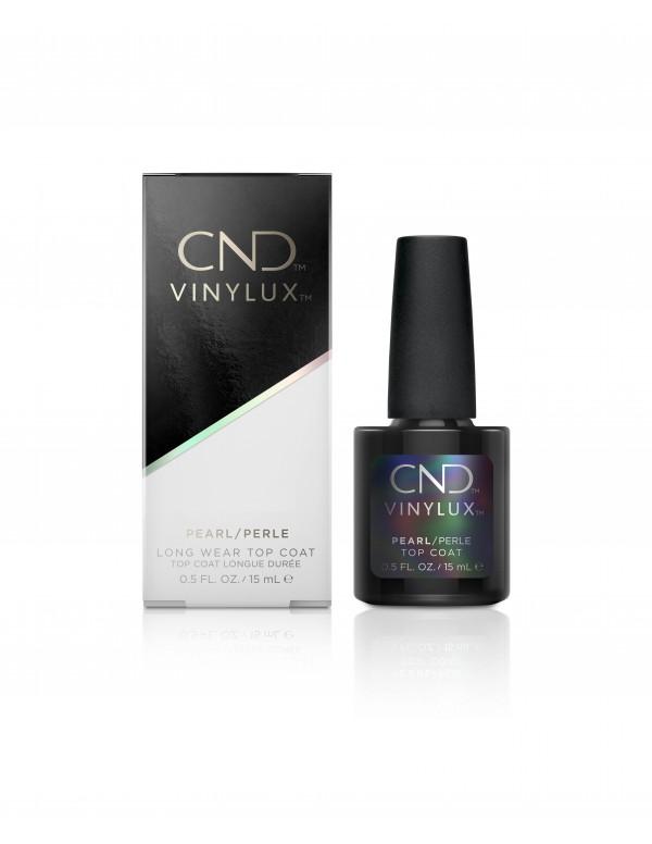 Cnd vinylux pearl top coat 15ml