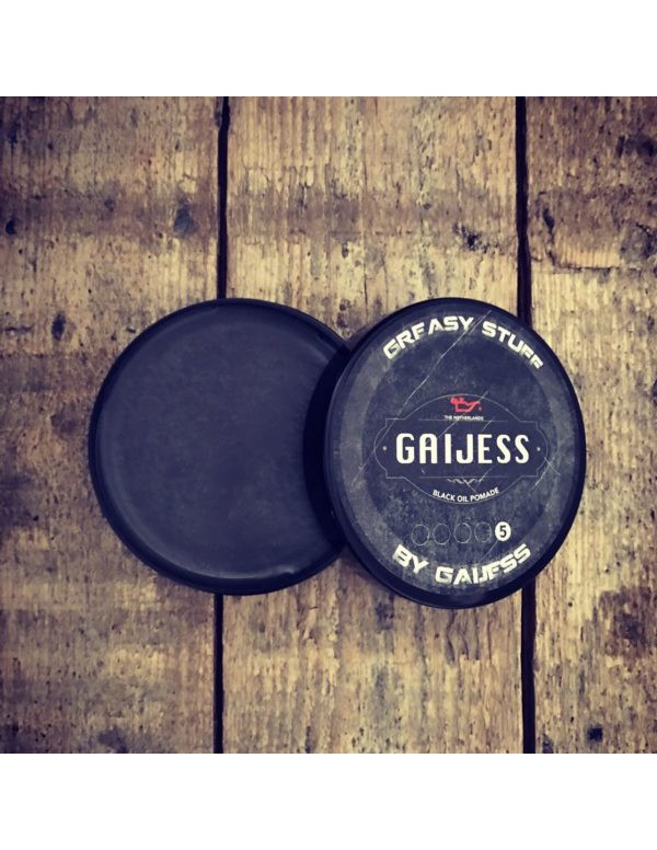 Gaijess black oil pomade 125ml
