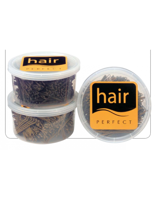 "Hair perfect schuifjes lang blond 2.5"" 500gra..."