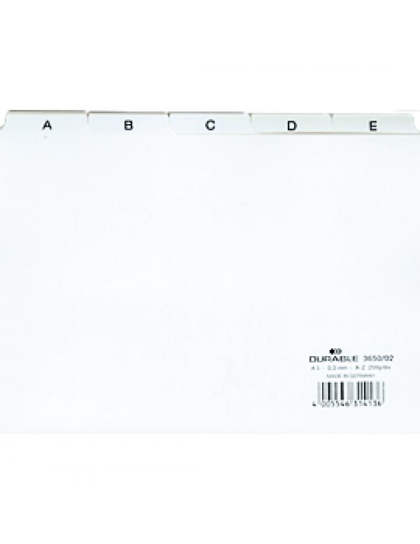 ABC tab kaarten