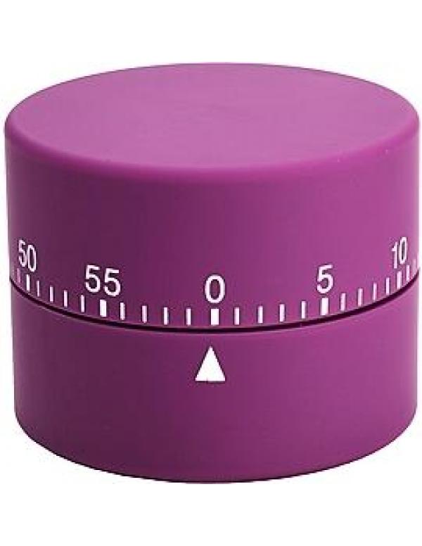 Efalock wekker round timer violet