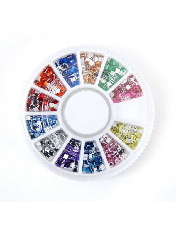 Florence acrylic stones carrousel strass round