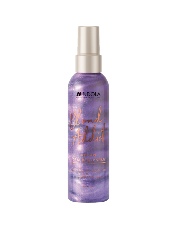 Indola Blond addict ice shimmer Spray 150ml