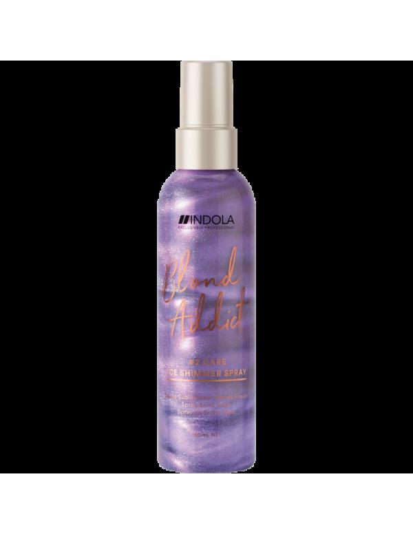 Indola Blond addict ice shimmer Spray 150ml