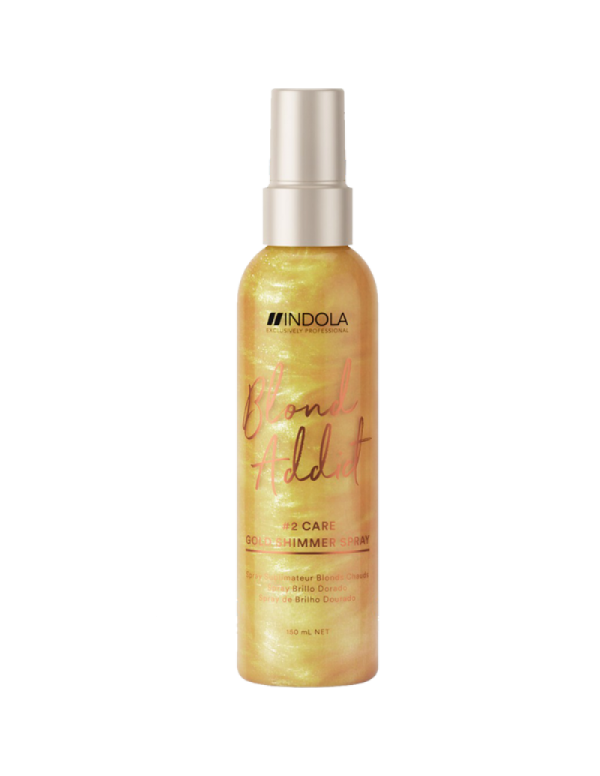 Indola blond addict gold shimmer spray 150ml
