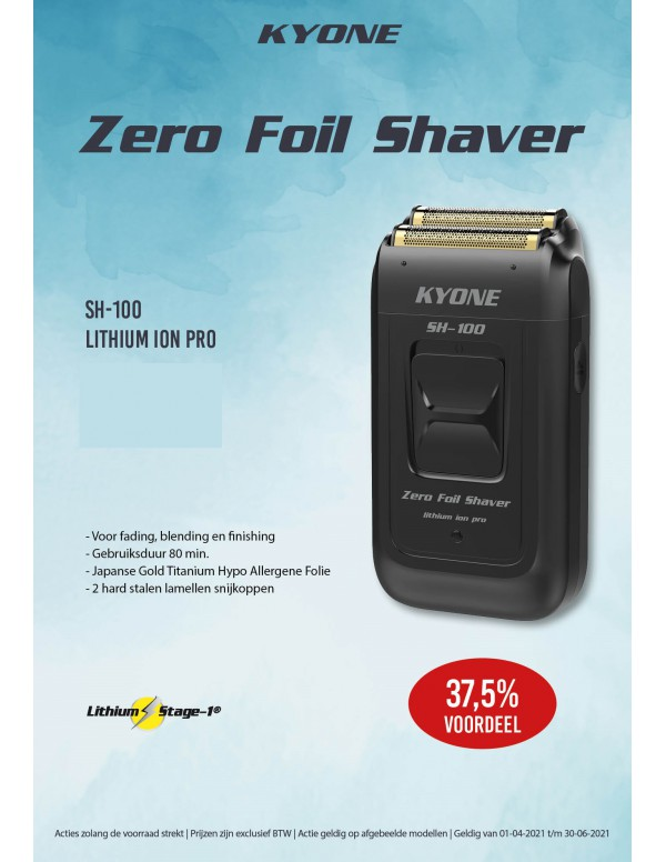 Kyone zero foil shaver SH-100