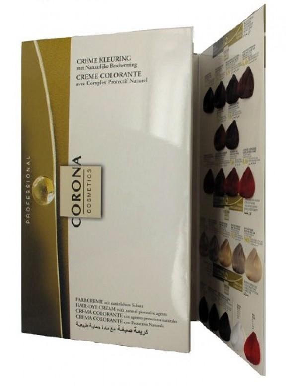 Corona Kleurenkaart