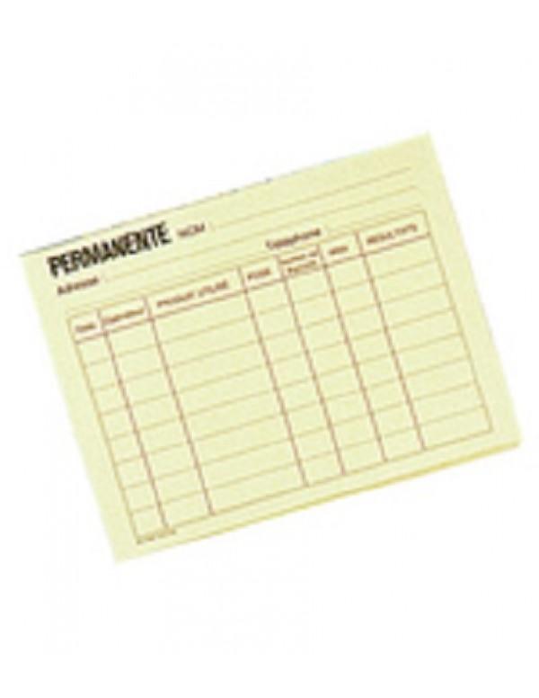 Klantenkaart Verf/Permanent