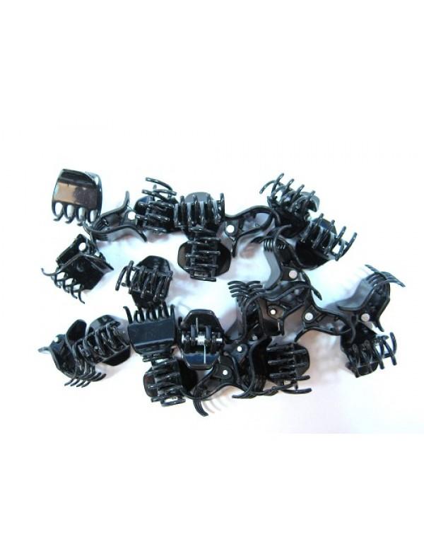 Mini Klemmen Zwart 24stuks