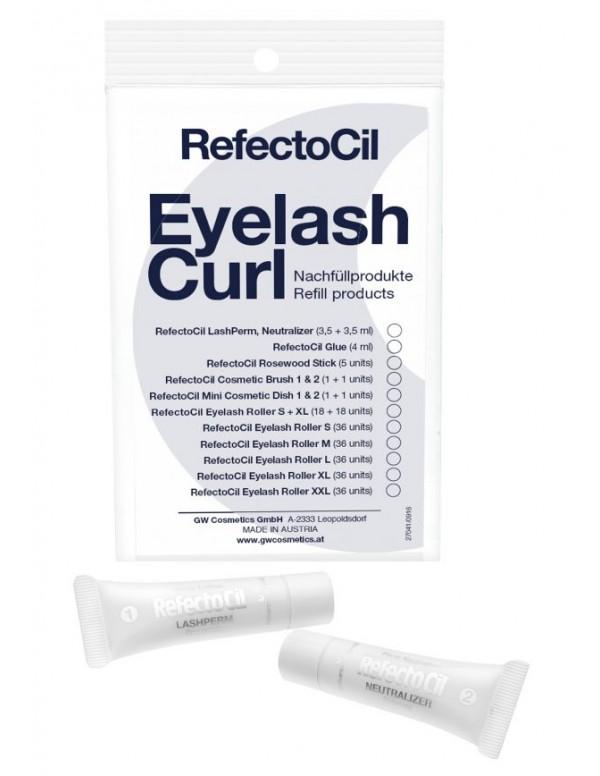 Refectocil eyelash curl refill perm en neutralizer...