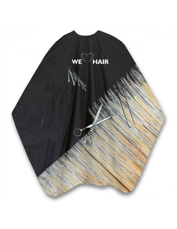 Trend-design kapmantel we love hair cut