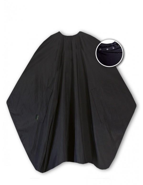 Trend-design kapmantel classic zwart