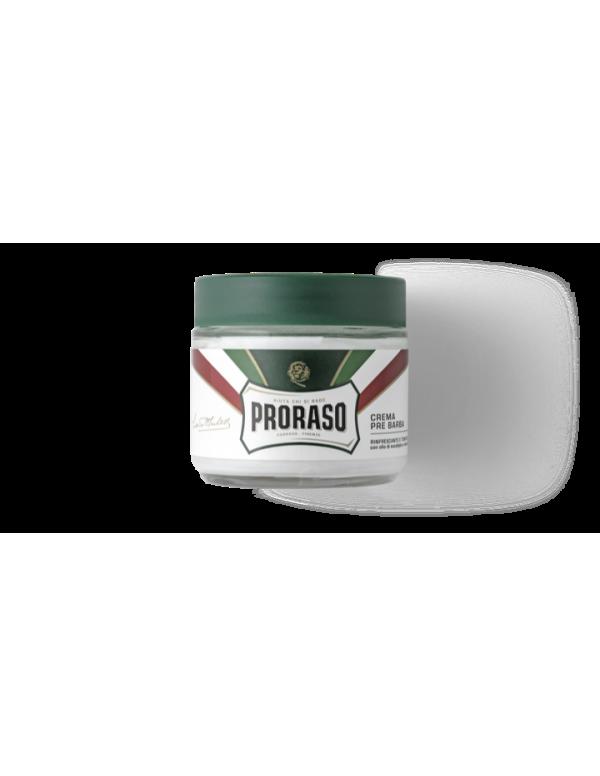 Proraso groen Pre-shave creme 100ml