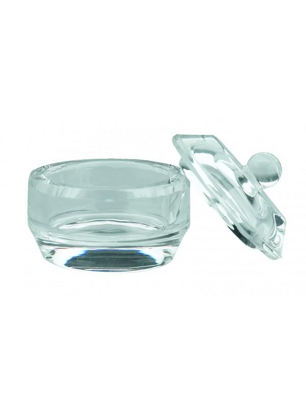 Mengpotje glas met deksel