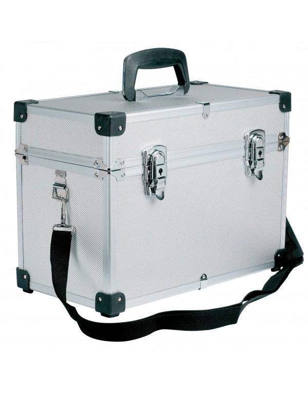 Sibel Koffer compact zilver