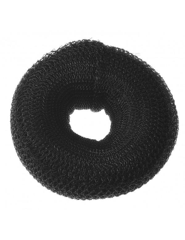 Haardonut Knot Rond nylon zwart 9cm