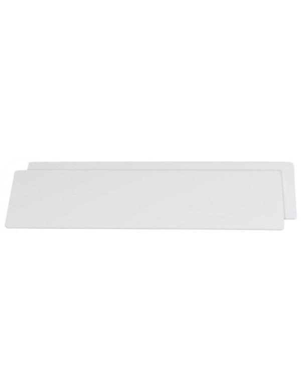coupe soleil plank 25cm 2stuks